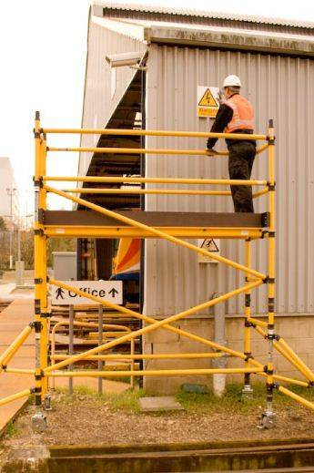 GRP scaffolding tower hire