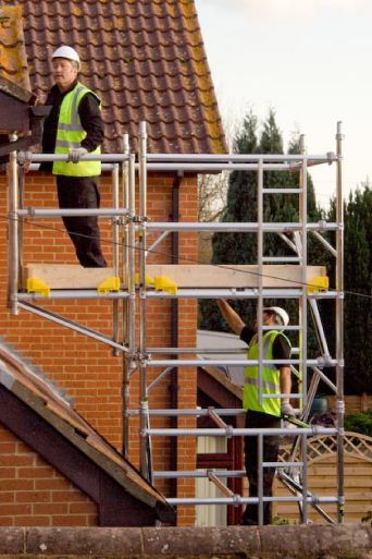 cantlever scaffold tower hire